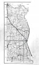 Morrison County Map - Legend, Left, Morrison County 1958